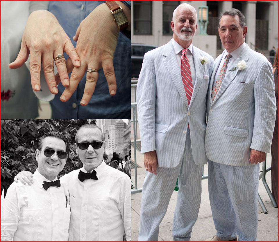 ניו-יורק מתחתנת