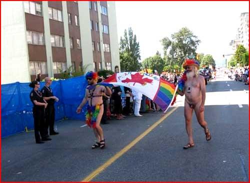 מצעד הגאווה בוונקובר, קנדה