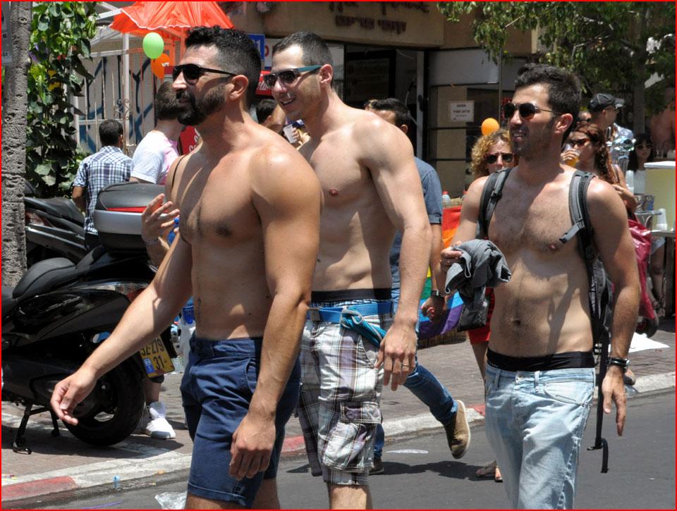 מצעד הגאווה 2015 בתל אביב, מפה ומסלול (מעודכן)