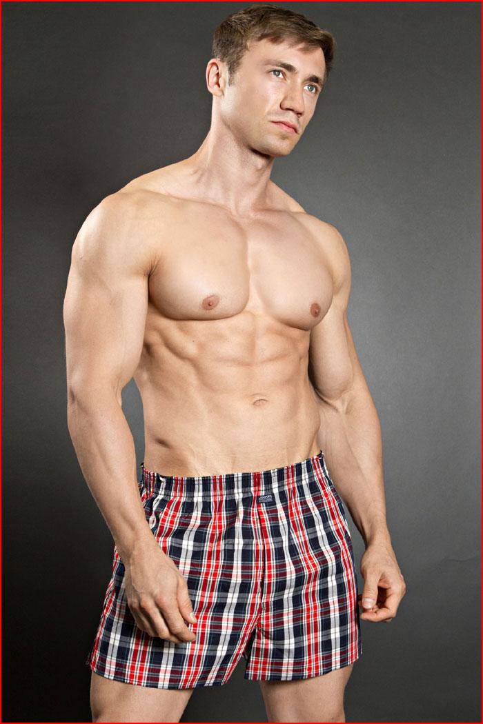 גבר שרירי