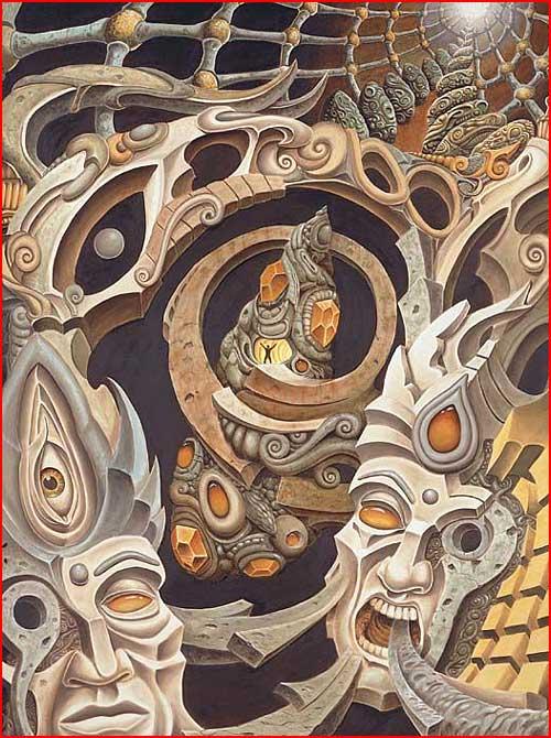 קעקועים מדהימים מאת מיכאל פוקיארלי