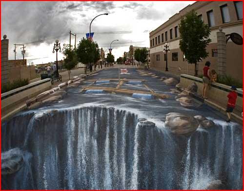 3D Art ברחובות