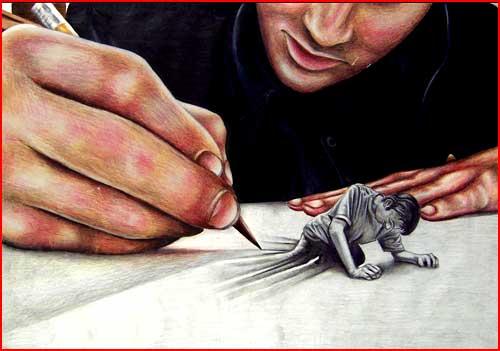 ציורים לא שגרתיים מאת פיינל פנטזי אווה