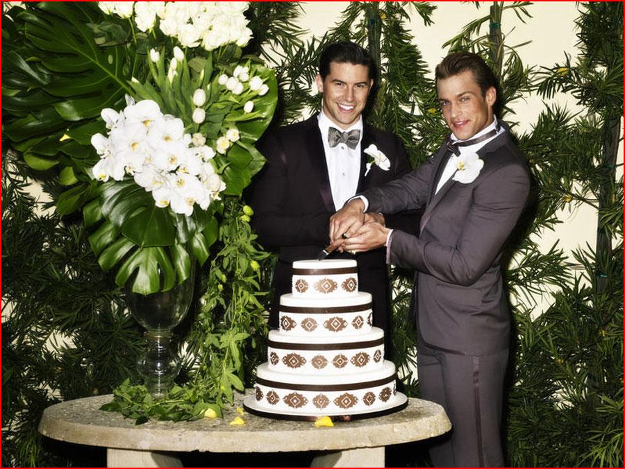 חתונתם של ג'ייסון ומארק בלאס וגאס