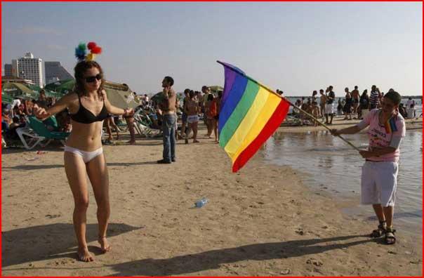 מצעד הגאווה 2014 בתל אביב, מפה ומסלול