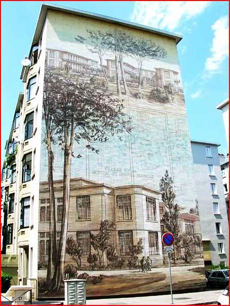 ציורים על בתים