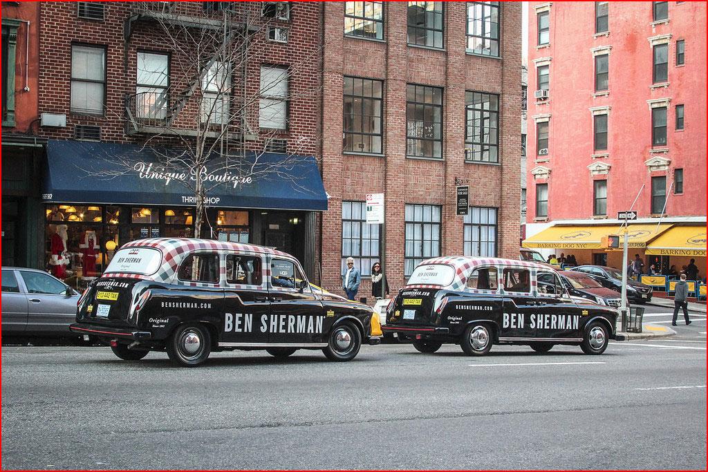 רכבי אספנות ברחובות ניו יורק