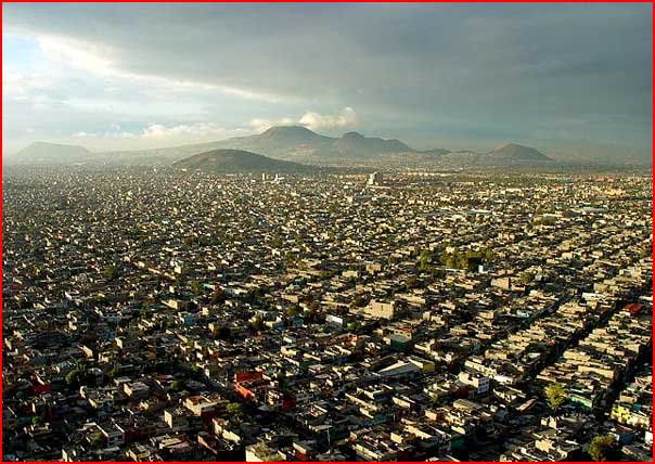 טיסה מעל מקסיקו סיטי