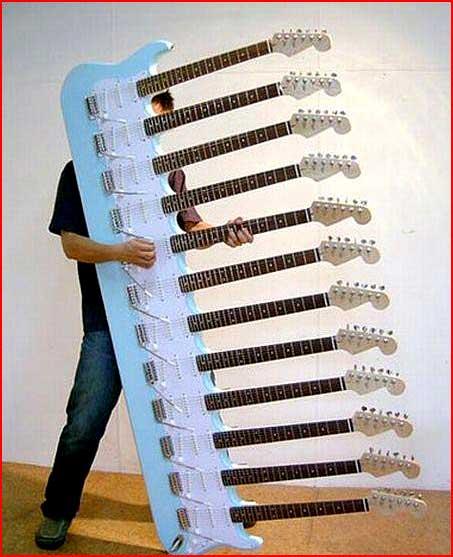 גיטרות לא שגרתיות