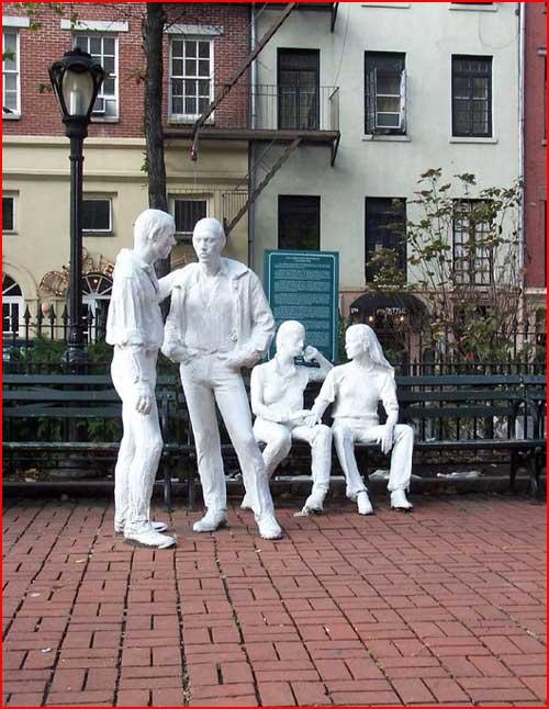 אנדרטת השחרור הגאה בניו יורק