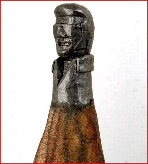 פסלים ממוט העיפרון