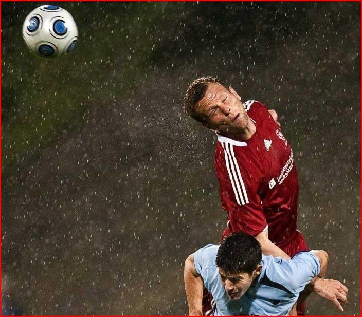 רגעים מעניינים של כדורגל