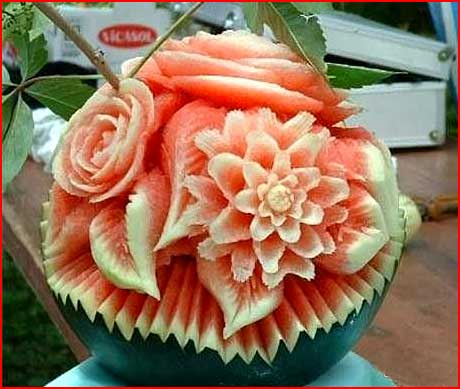 פרחים מירקות