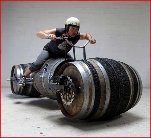 אופנוע לא שגרתי