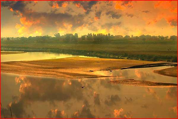 מזרח של הצלם ראזק וואנס
