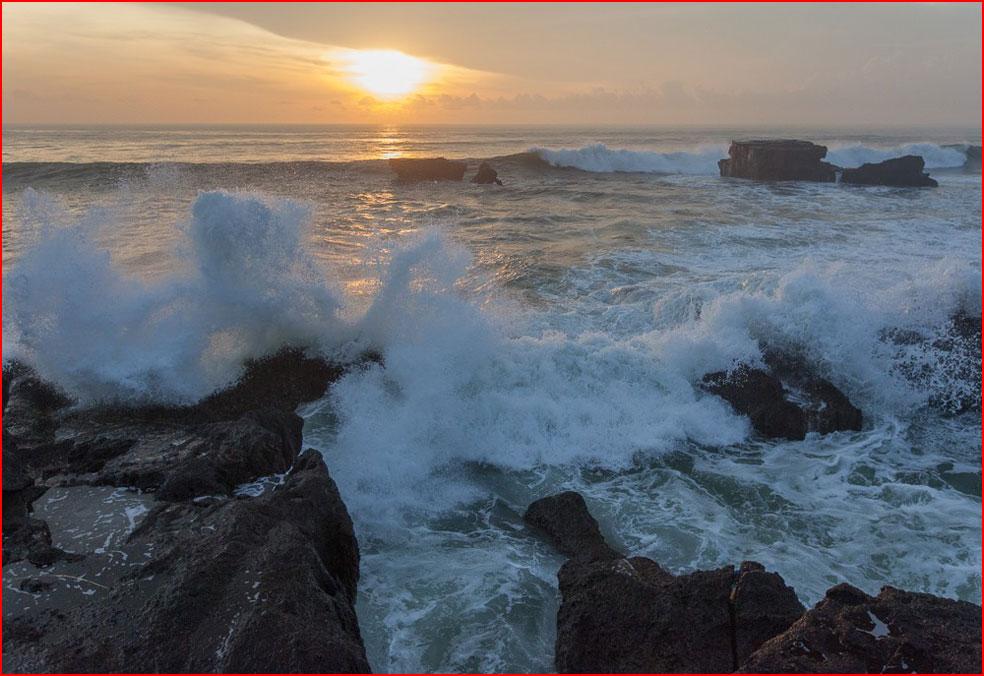 אני מצלם גלים