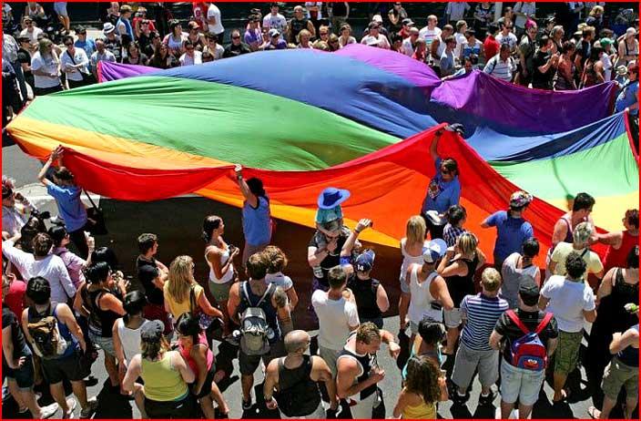 מצעד הגאווה במלבורן, אוסטרליה
