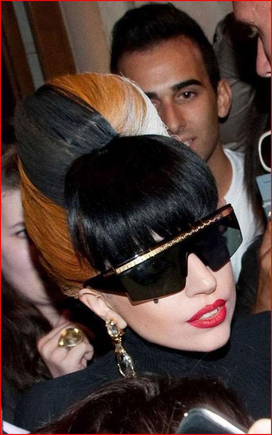 תספורות של ליידי גאגא