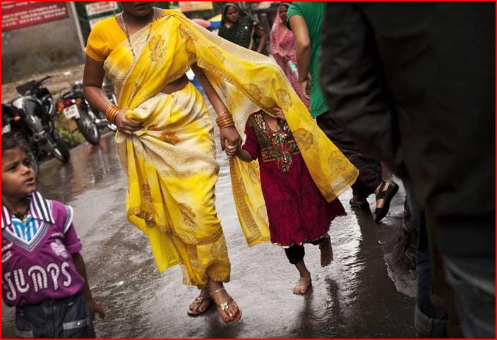 עונת הגשמים בהודו