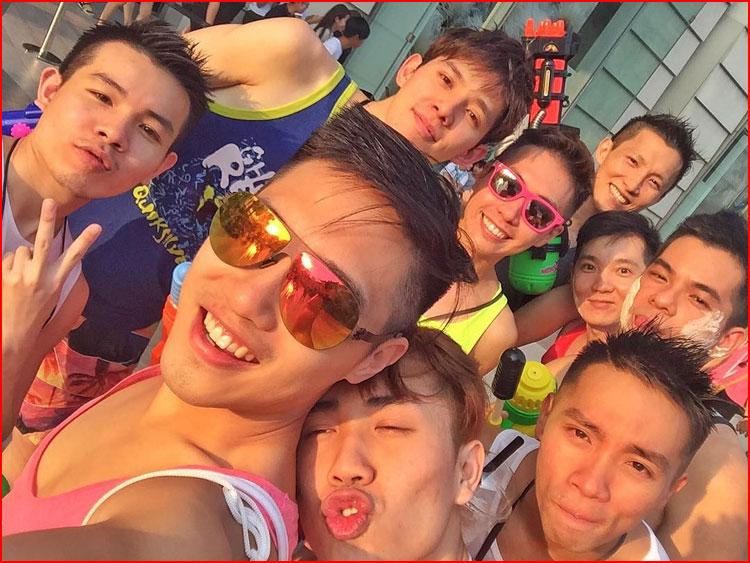 חגיגת ראש השנה בתאילנד
