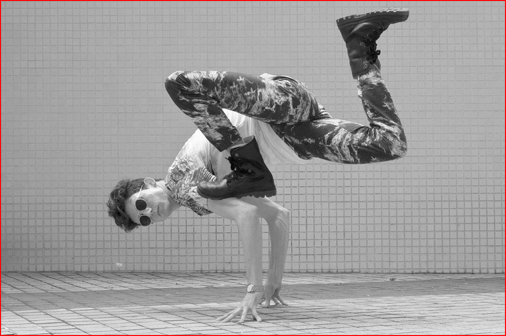 רקדן צרפתי ארתור קדרה