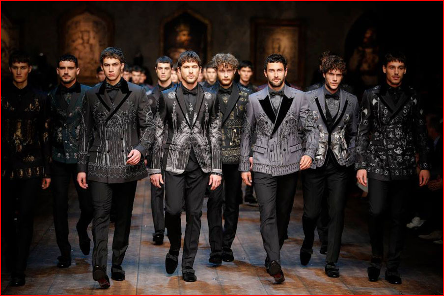 אופנה של דולצ''ה וגבאנה (וידאו)