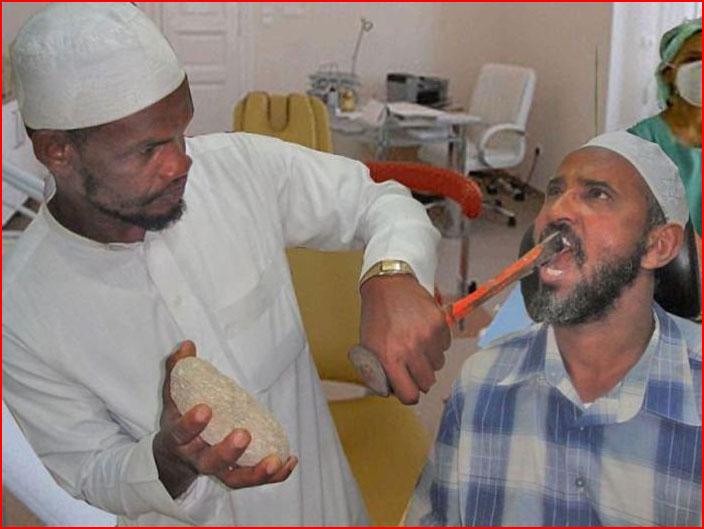 עוד מישהו רוצה להרשם לרופא שיניים הזה?