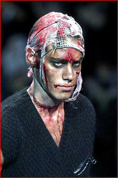 האופנה המזעזעת של ג'ון גליאנו