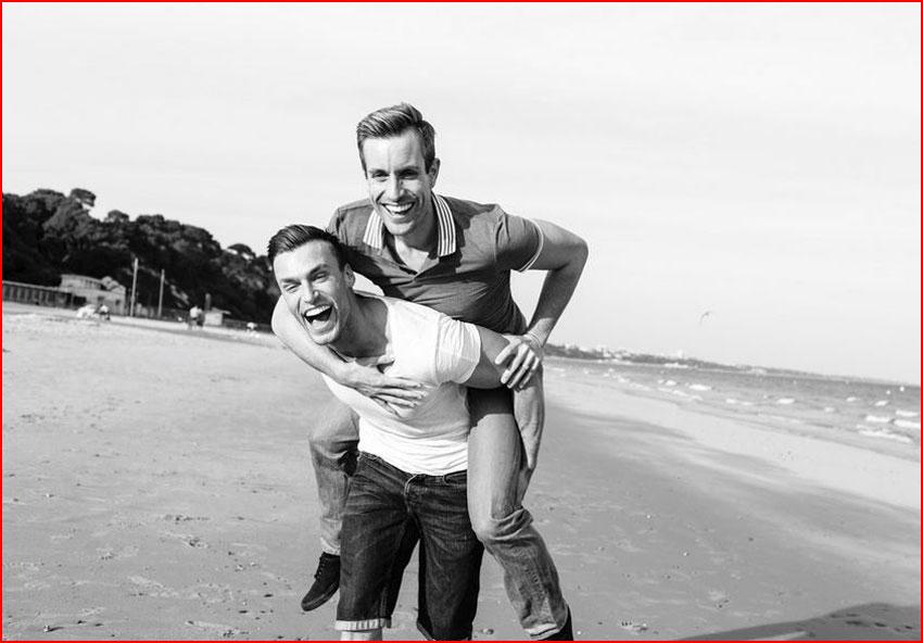 אלן וטוני - הזוג המתוק