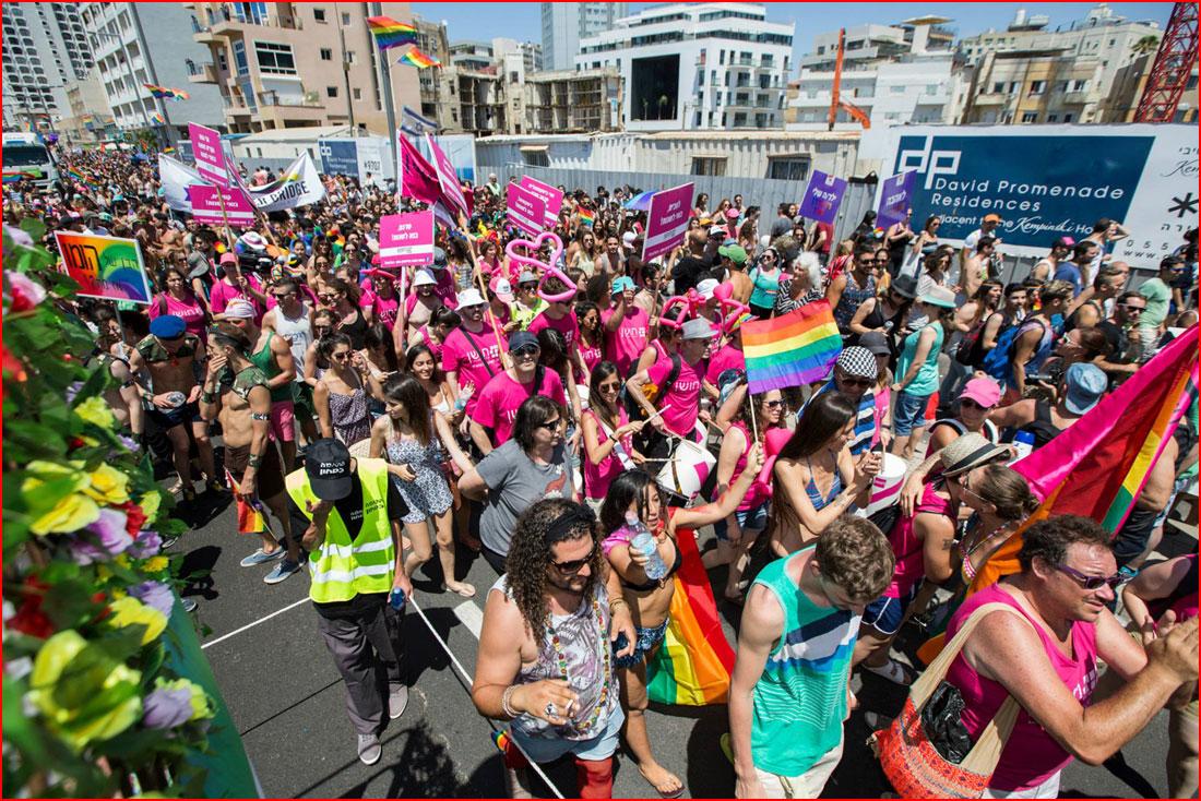 מצעד הגאווה בתל אביב 2015