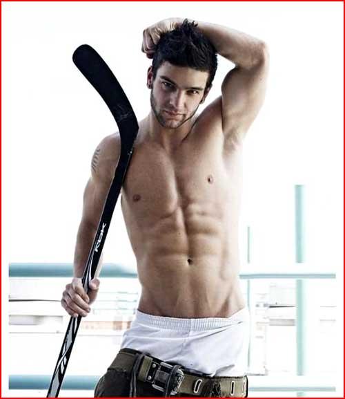שחקן הוקי