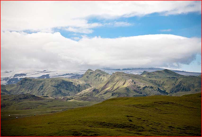 איסלנד. פיורדים ואוקיינוס
