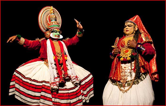 תיאטרון קטקלי בדרום הודו