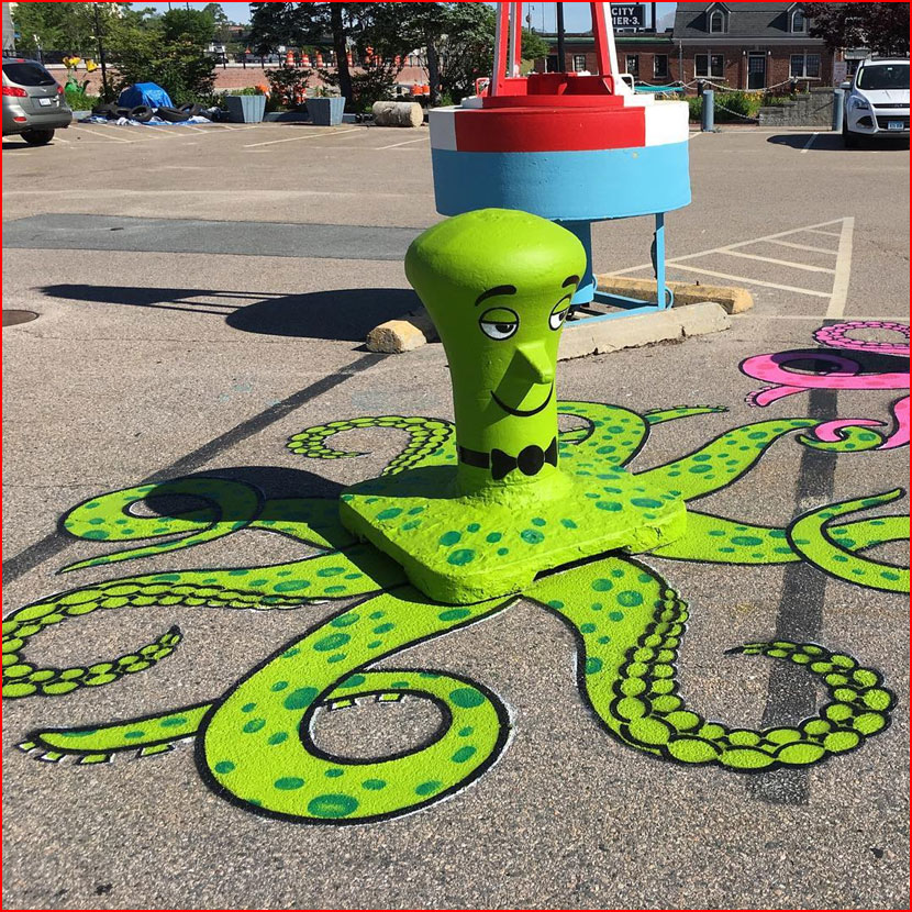 אומנות רחוב של טום בוב