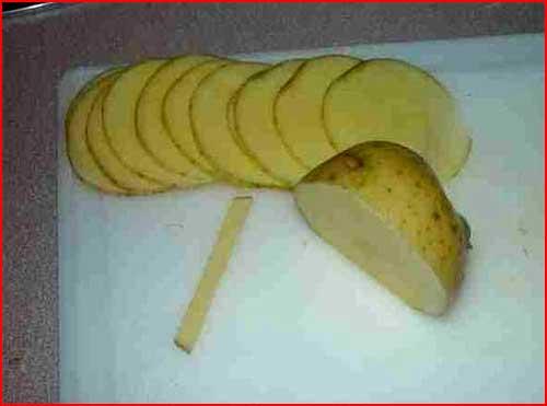 זה עשוי מתפוחי אדמה