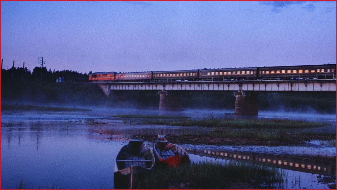 בטויל רכבת ממוסקבה לוולדיווסטוק
