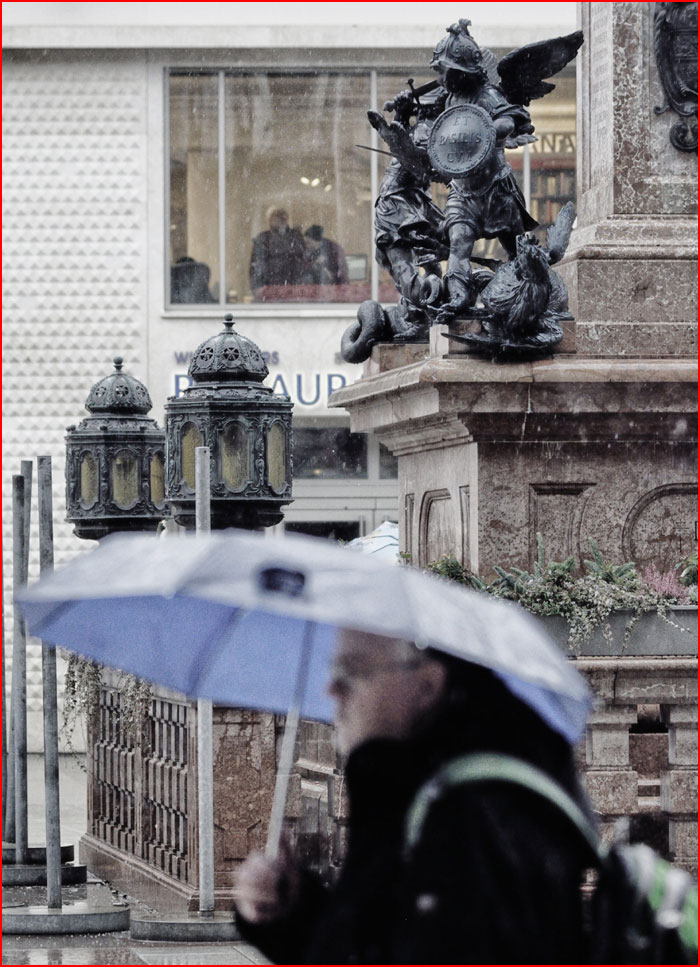 מינכן בגשם
