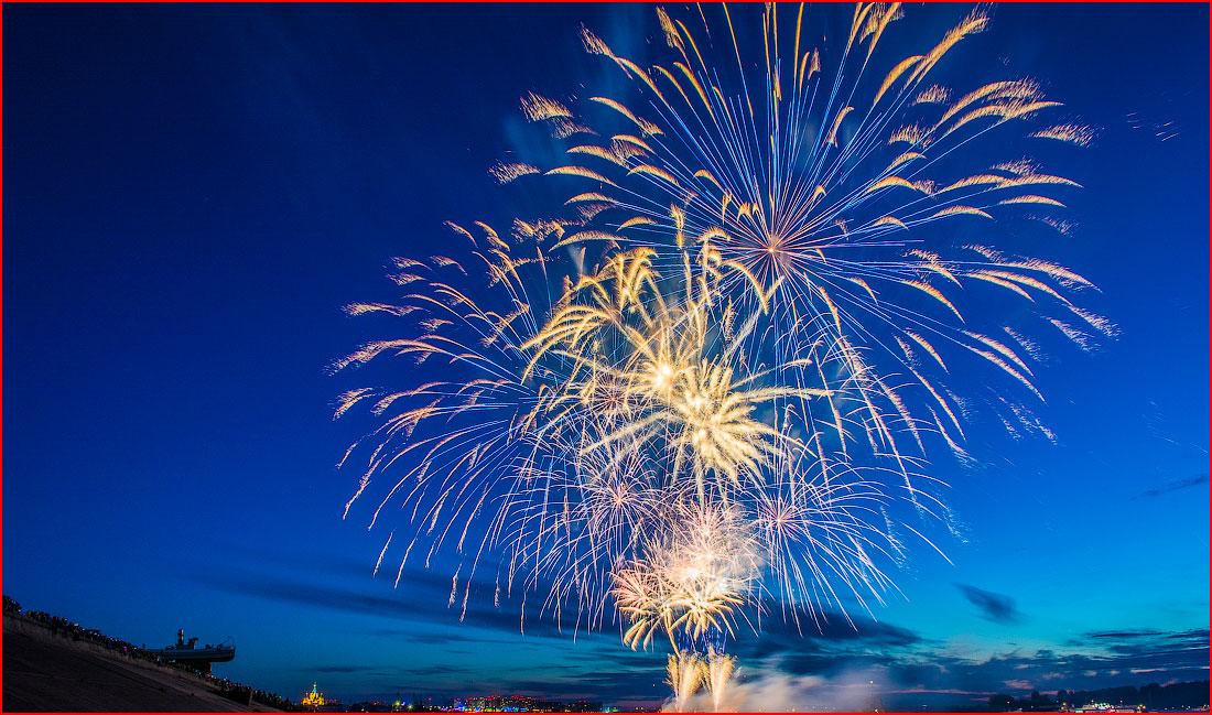 פסטיבל הזיקוקין ברוסיה