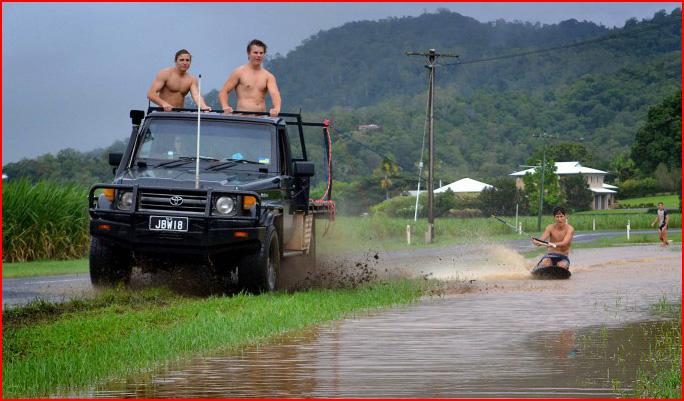 וייקבוארדינג בדרכים של אוסטרליה