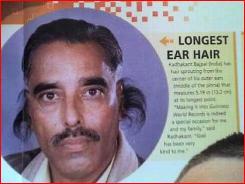 אוזניים הכי שעירות