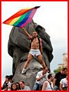 תמונה ממצעד הגאווה בפריז