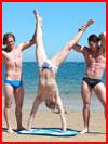שלושה בחוף