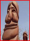פסל מצחיק