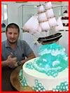 עוגות של רנת אגזמוב - הקונדיטור ממוסקבה (20 תמונות)