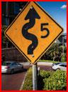 הכביש הכי מפותל בסן-פרנסיסקו (וידאו)