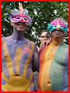צבעוניים במצעד הגאווה