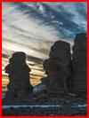 עמודי טבע בצ'וקטקה (16 תמונות)