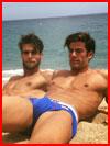 חברים בחוף הים