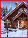ביתו של סנטה קלאוס (19 תמונות)