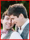 חתונה רומנטית למגזין גייז (11 תמונות)